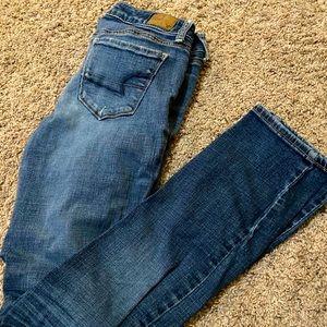 Blue American eagle jeans